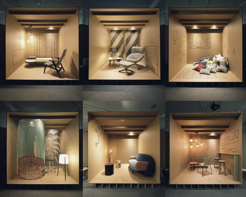Furniture Design Exhibition daniel valle architects